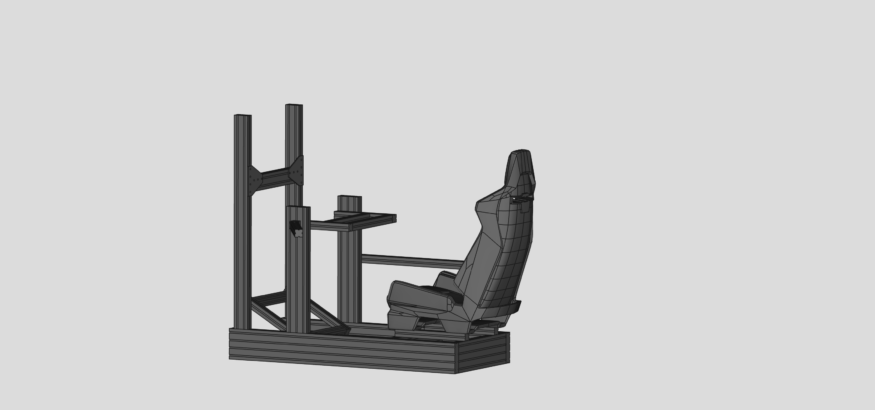 SimRig with seat